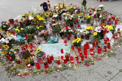 Gedenkstätte für Daniel Hillig in der Chemnitzer Brückenstraße