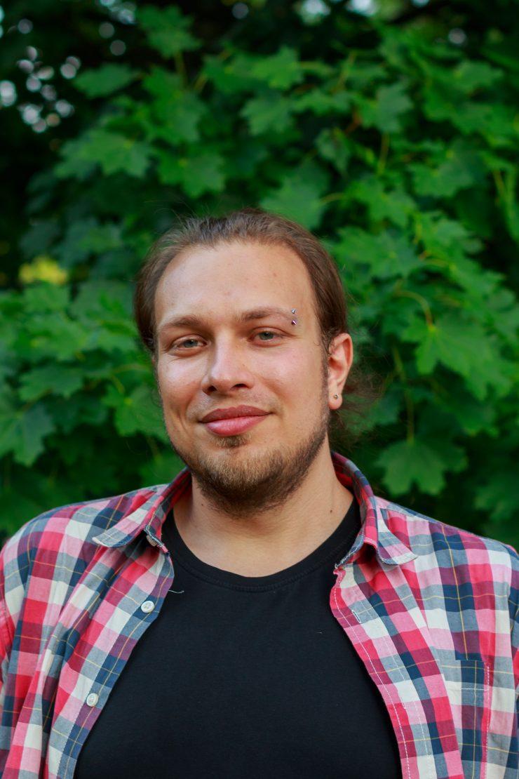 Porträt von Benjamin Bonk