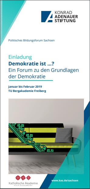 """Flyer """"Demokratie ist ..."""""""
