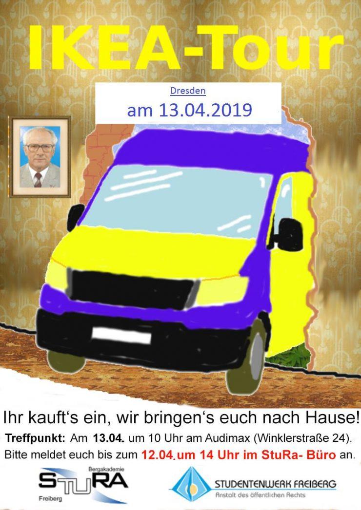 Plakat Ikea-Tour