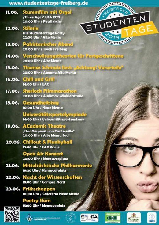 Programm der Studententage 2019